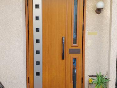 品川区 玄関ドア交換リフォーム事例