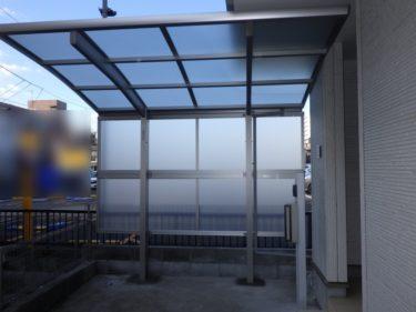 荒川区 サイクルポート設置事例